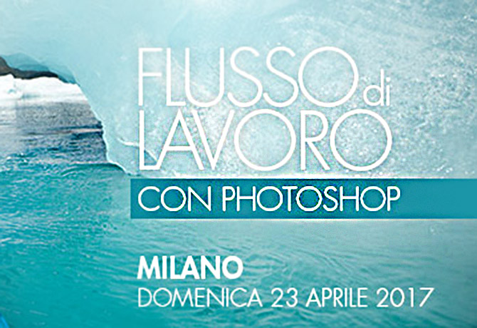 workshop flusso di lavoro con photoshop